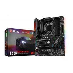 Płyta główna MSI B250 GAMING PRO CARBON, B250, DDR4, HDMI, DVI, USB-C, ATX Darmowy odbiór w 20 miastach!