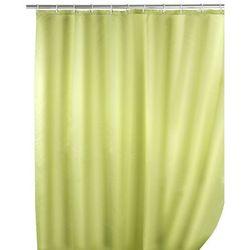 Zasłona prysznicowa, tekstylna, kolor jasnozielony, 180x200 cm, WENKO