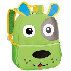 Plecak neoprenowy Piesek zielony - Spokey