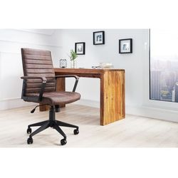 Krzesło biurowe Latium brązowe