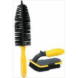 Zestaw szczotek do czyszczenia kół opon Dunlop