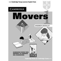 Książki do nauki języka, Cambridge Young Learners English Tests Movers 1 Answer Booklet (opr. miękka)