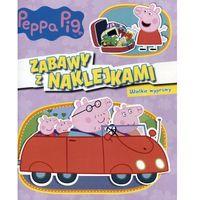 Książki dla dzieci, Peppa pig. zabawy z naklejkami. wielkie wyprawy. - praca zbiorowa (opr. miękka)