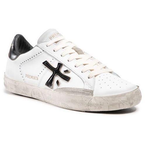 Damskie obuwie sportowe, Sneakersy PREMIATA - Stevend 4715 White/Black