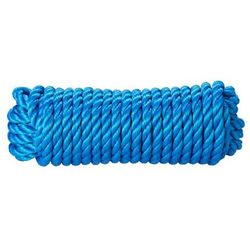 Lina skręcana polipropylenowa Diall 12 mm x 7 5 m niebieska