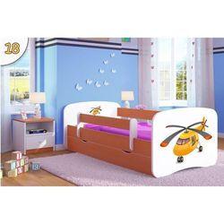 Łóżko dziecięce Kocot-Meble BABYDREAMS Helikopter Kolory Negocjuj Cenę.