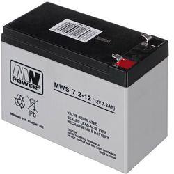Akumulator MW Power MWS 7,2-12 (12V 7200mAh)- wysyłamy do 18:30