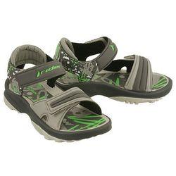 RIDER 81912 K2 TWIST VI BABY grey/green, sandały dziecięce, rozmiary: 21-27