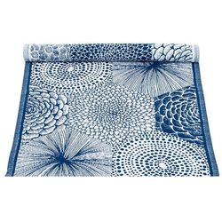 Bieżnik na stół Lapuan Kankurit Ruut blueberry 48x150 cm