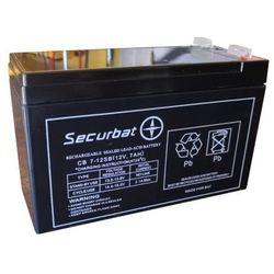 Akumulator żelowy SECURBAT CB 7-12 12V 7Ah