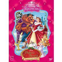 Bajki, Disney Księżniczka. Piękna i Bestia. Zaczarowane święta [DVD]