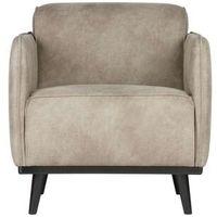 Fotele, Be Pure Fotel Statement w kolorze skóry słonia 378670-105