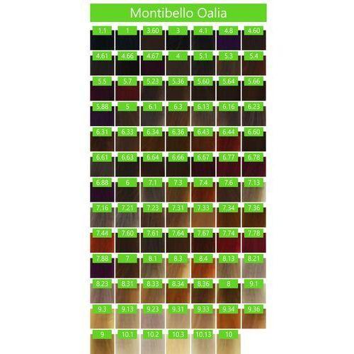 Farbowanie włosów, Montibello Oalia zestaw do farbowania BEZ AMONIAKU farba 60ml + oxydant 90ml 1 czarny OALIA 11 VOL 3,3%