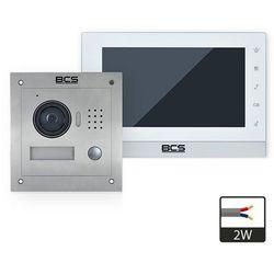 Zestaw wideodomofonowy 2-przewodowy BCS-VD2W1 ZPB