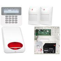 Czujki alarmowe, System alarmowy: Płyta główna Perfecta 16 + Manipulator PRF-LCD + 2x Czujnik ruchu + Akcesoria