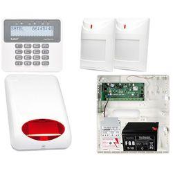 System alarmowy: Płyta główna Perfecta 16 + Manipulator PRF-LCD + 2x Czujnik ruchu + Akcesoria