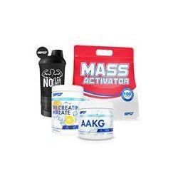 SFD NUTRITION Tri Creatine Malate + AAKG + Mass Activator + Shaker GRATIS 500g+200cap+7000g+1szt