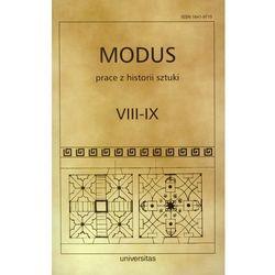 Modus Prace z historii sztuki VIII-IX (opr. miękka)