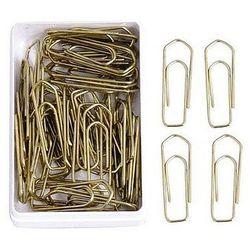 Spinacze złote 26mm E&D PLASTIC 50szt. 6082