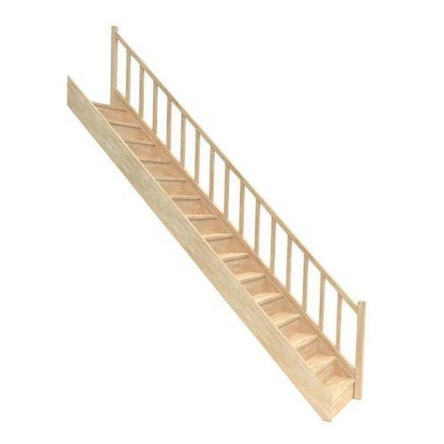 Schody, Schody drewniane proste EGD 080RC