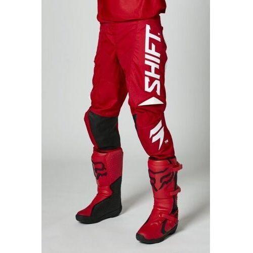 Pozostałe akcesoria do motocykli, Shift spodnie off-road white label trac red
