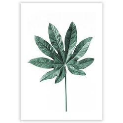 Dekoria Plakat Leaf Emerald Green, 70 x 100 cm