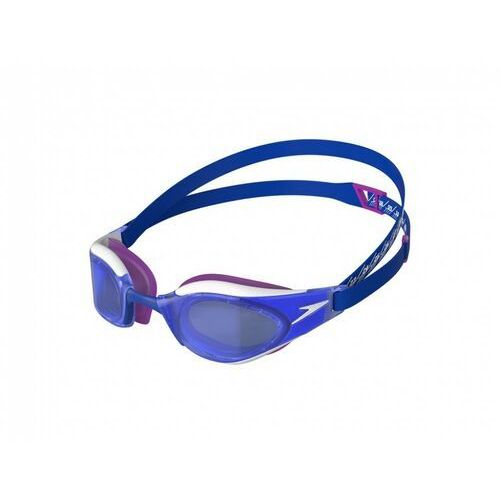 Okularki pływackie, SPEEDO OKULARY FASTSKIN HYPER ELITE PINK-BLUE, KOLOR: BLUE, TYP SOCZEWKI: TINTED