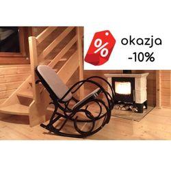 Fotel bujany Max Bis Plus Orzech OUTLET -10% orzech