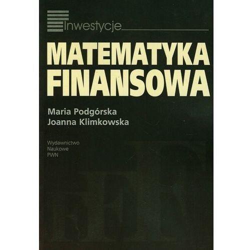 Matematyka, Matematyka finansowa (opr. miękka)