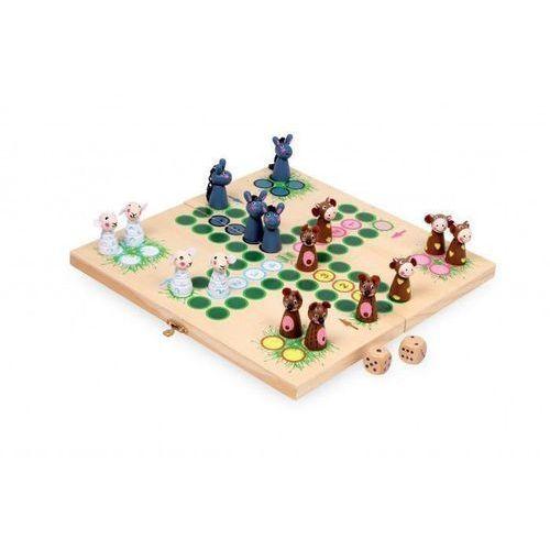 Gry dla dzieci, Osły kontra reszta zagrody - gra planszowa chińczyk