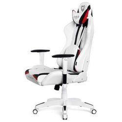 Fotel dla gracza DIABLO CHAIRS X-Ray biało-czarny rozmiar L