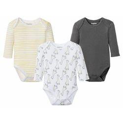 LUPILU® Body niemowlęce, 3 sztuki