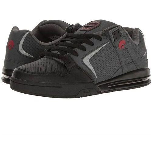 Męskie obuwie sportowe, buty OSIRIS - Pxl Charcoal/Black/Red (1183)