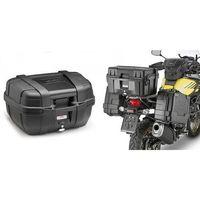 Kufry i bagażniki motocyklowe, KAPPA KGR52N KUFER CENTRALNY 52L MONOKEY GARDA BLACK LINE