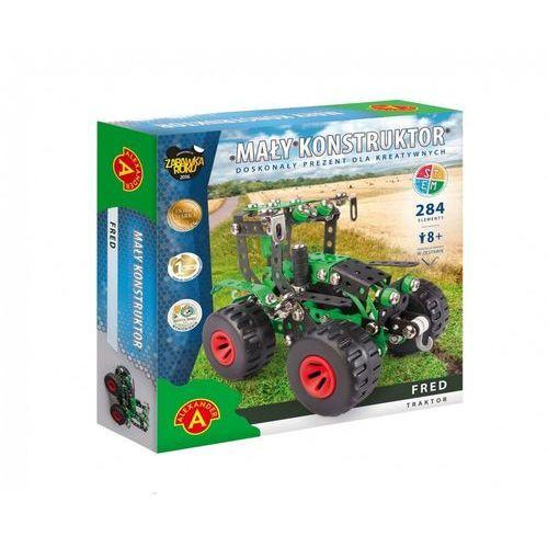 Zestawy konstrukcyjne dla dzieci, Alexander Zestaw konstrukcyjny Mały Konstruktor Maszyn Rolnych - Fred