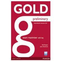 Książki do nauki języka, Gold preliminary exam maximiser with key (opr. miękka)