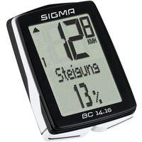 Liczniki rowerowe, SIGMA licznik BC 14.16 - przewodowy licznik rowerowy