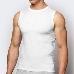 Koszulka męska Atlantic BMV-047 biały