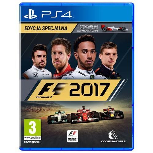 Gry PS4, F1 2017 (PS4)