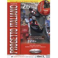 Książki do nauki języka, Progetto Italiano Nuovo 2B podr + ćwiczenia + 2 CD (opr. miękka)