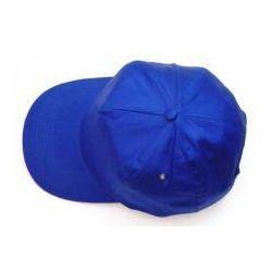Czapka z daszkiem niebieska