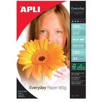 Papiery fotograficzne, Papier fotograficzny APLI Everyday Photo Paper, A4, 180gsm, błyszczący, 100ark.