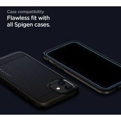 Szkło Hartowane Spigen Alm Glass Fc do Samsung Galaxy A32 LTE Black