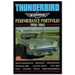 Thunderbird Performance Portfolio 1958-1963