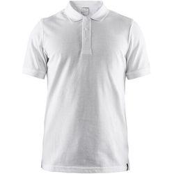 Craft Casual Pique Koszulka polo Mężczyźni, biały S 2019 Koszulki z krótkim rękawem