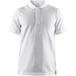Craft Casual Pique Koszulka polo Mężczyźni, biały XXL 2019 Koszulki z krótkim rękawem