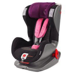 AVIONAUT Fotelik samochodowy EVOLVAIR SOFTY (9-36kg) – czarno-różowy
