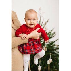 Sukienka dla niemowlaka- czerwona 6K3906 Oferta ważna tylko do 2031-06-22