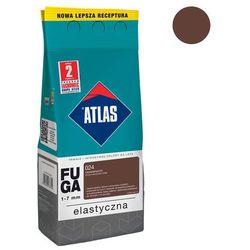 Fuga cementowa 024 ciemnobrązowy 2 kg ATLAS