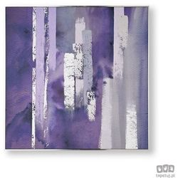 Obraz ręcznie malowany - Fioletowa harmonia 104015
